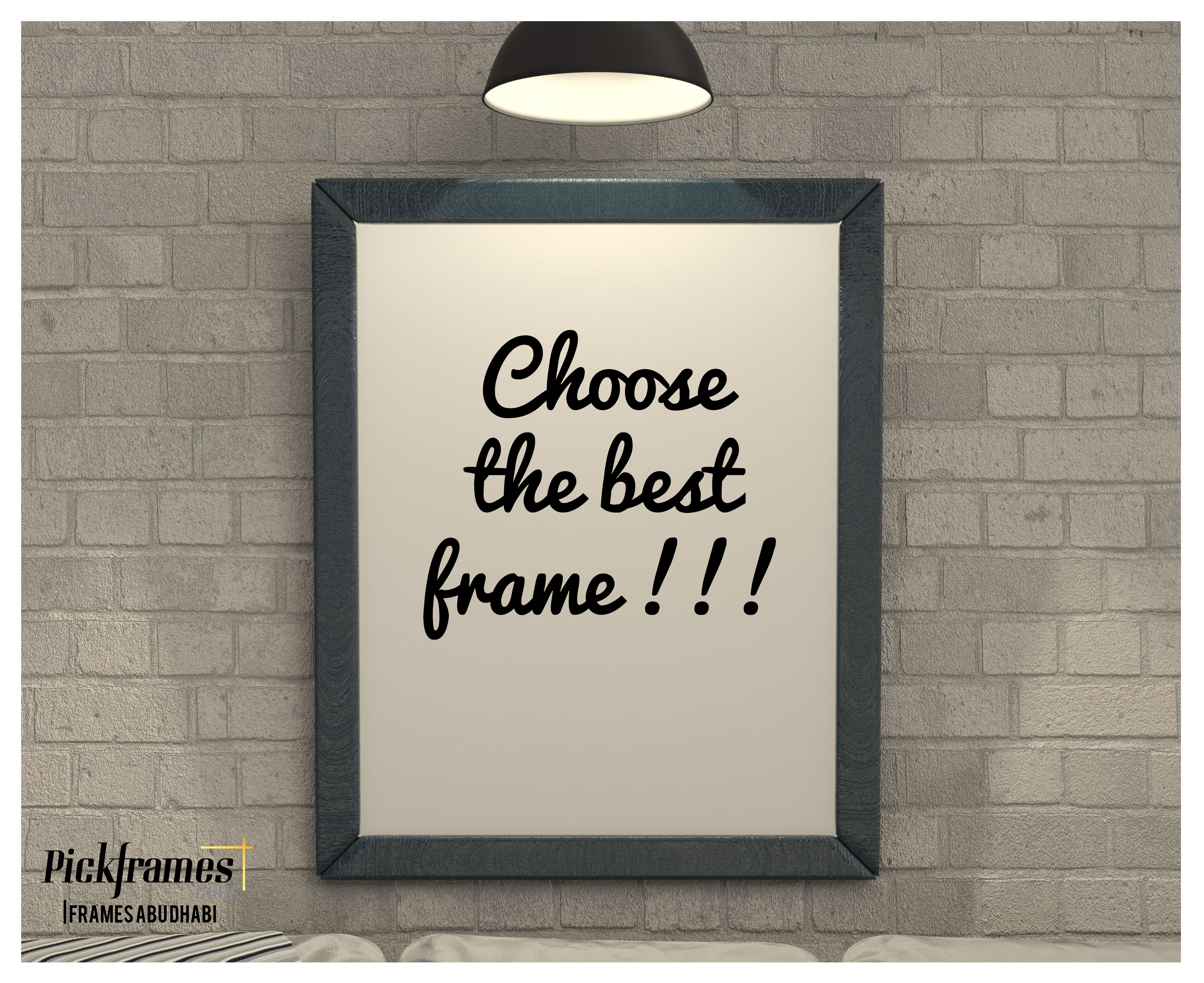 How to choose a photo frame
